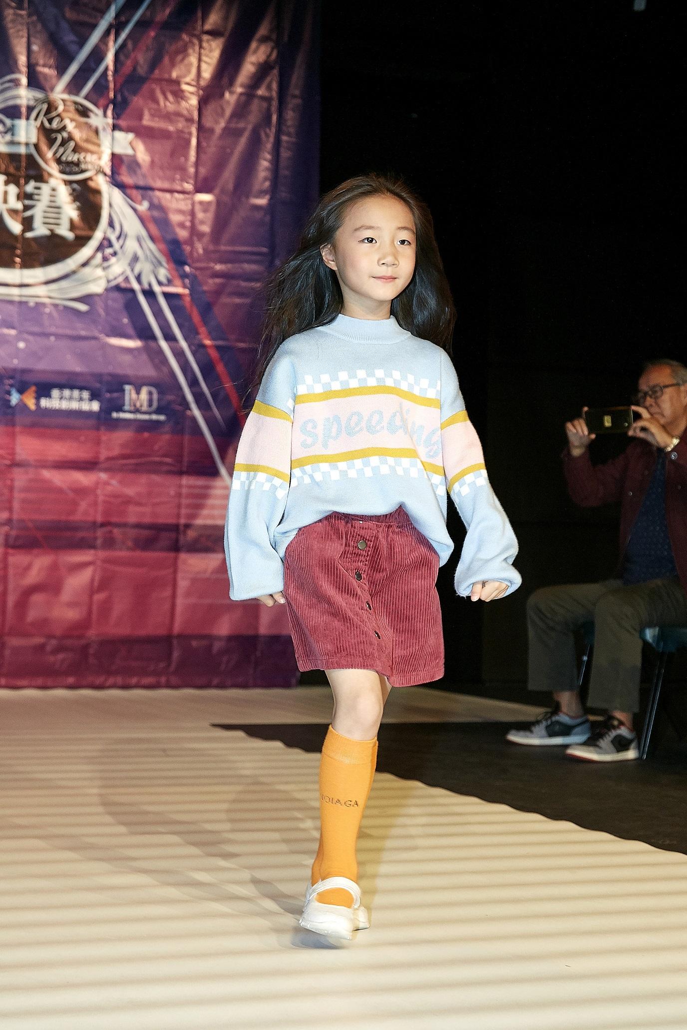 兒童模特兒catwalk